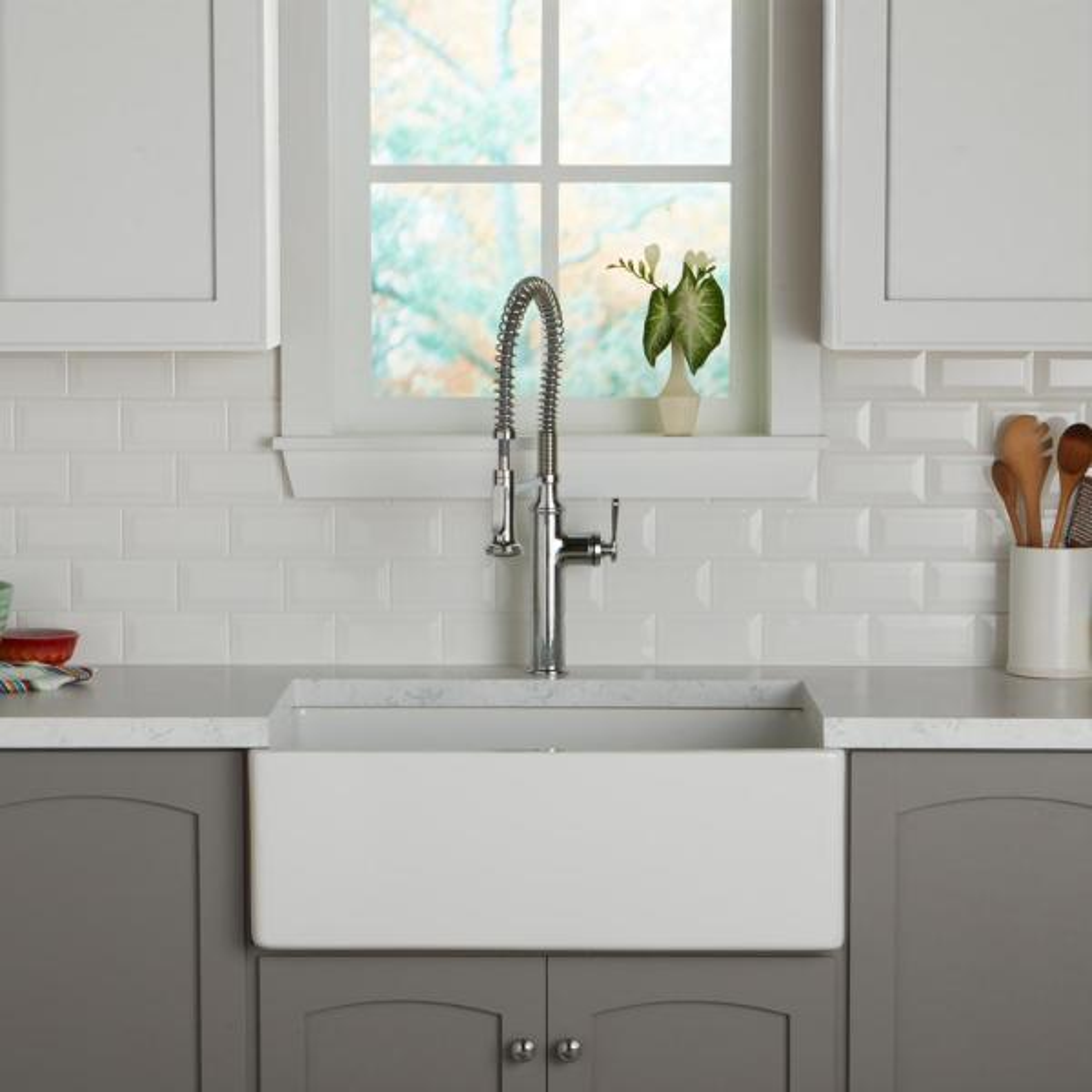 Daltile Restore 3 In X 6 In Ceramic Bevel Bright White Subway Tile 10 Sq Ft Case Re1536modbhd1p4 The Home Depot