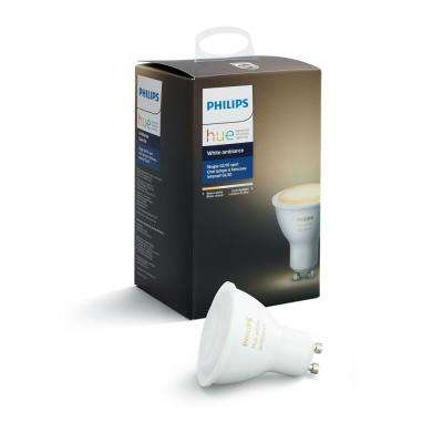Hue White Ambiance GU10 LED 60W Equivalent Dimmable  Smart wireless Spot Light