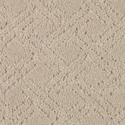 Carpet Sample - Pure - Color Antelope Pattern 8 in. x 8 in.