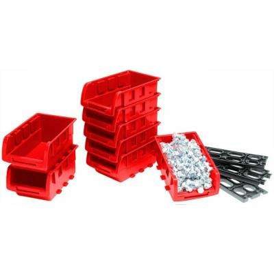 7.6 in. Small Stackable Bin Trays (8-Piece)