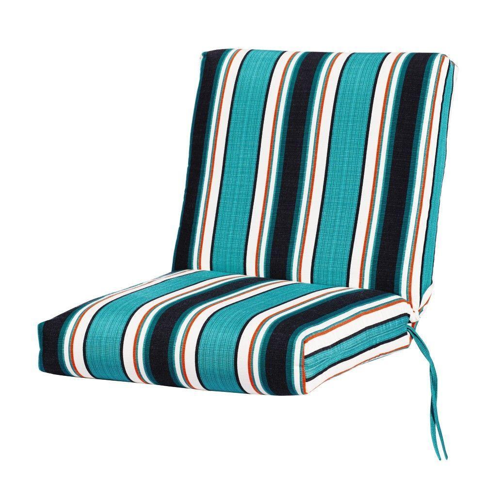 Sunbrella Surfside Outdoor Dining Chair Cushion