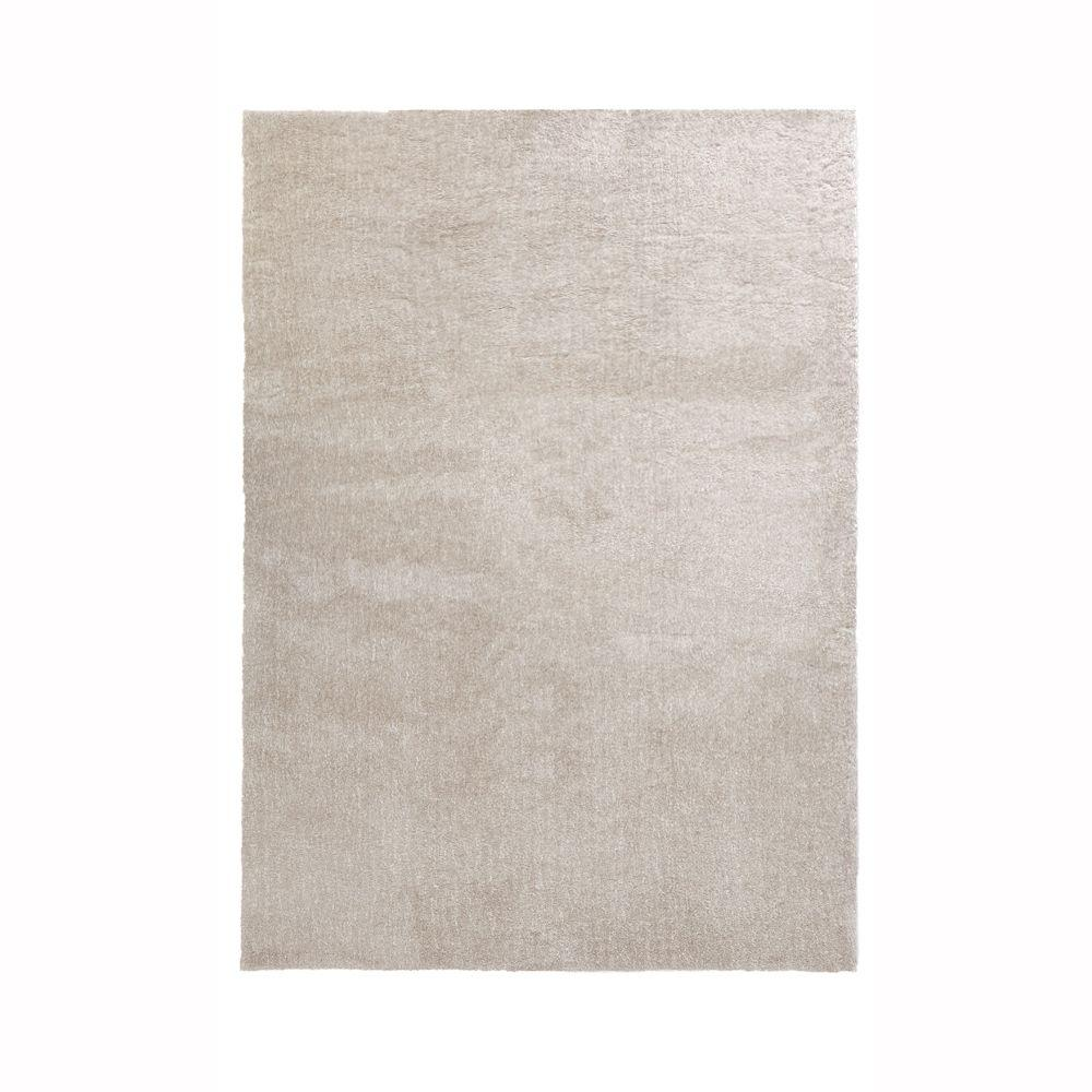 home decorators collection ethereal cream beige 7 ft. x 10 ft. area Beige Rug
