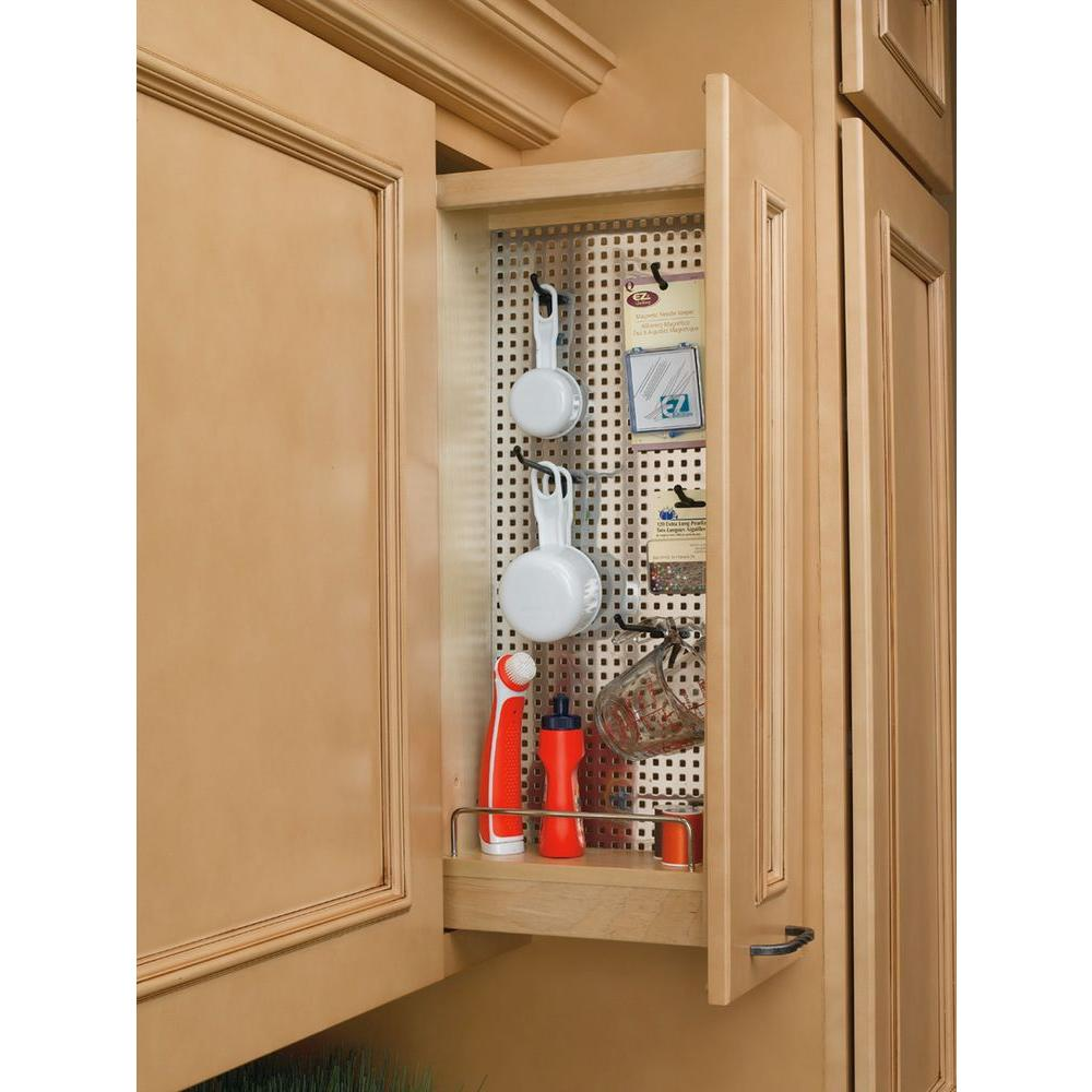 Rev a shelf in h x 5 in w x in d pull out - Bathroom cabinet organizers pull out ...