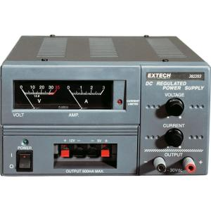 Extech Instruments Triple Output Power Supply Analog by Extech Instruments