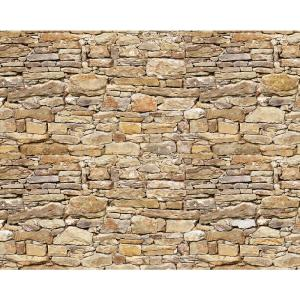 Brewster 118 in x 98 in Stone Wall Mural WALS0037 The Home Depot