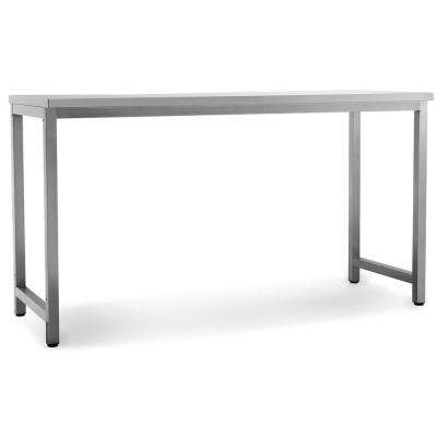 Outdoor Kitchen Stainless Steel Rectangle Patio Dining Table