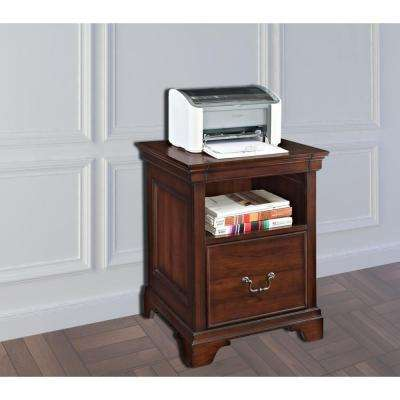 Belcourt Delmont Cherry File Cabinet