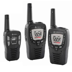 Cobra 23-Mile Range 2-Way Radio Pair Plus Bonus 16-Mile Range Radio by Cobra