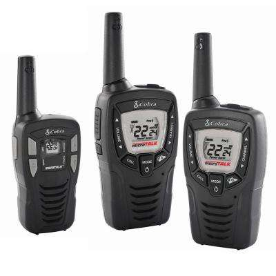 23-Mile Range 2-Way Radio Pair Plus Bonus 16-Mile Range Radio