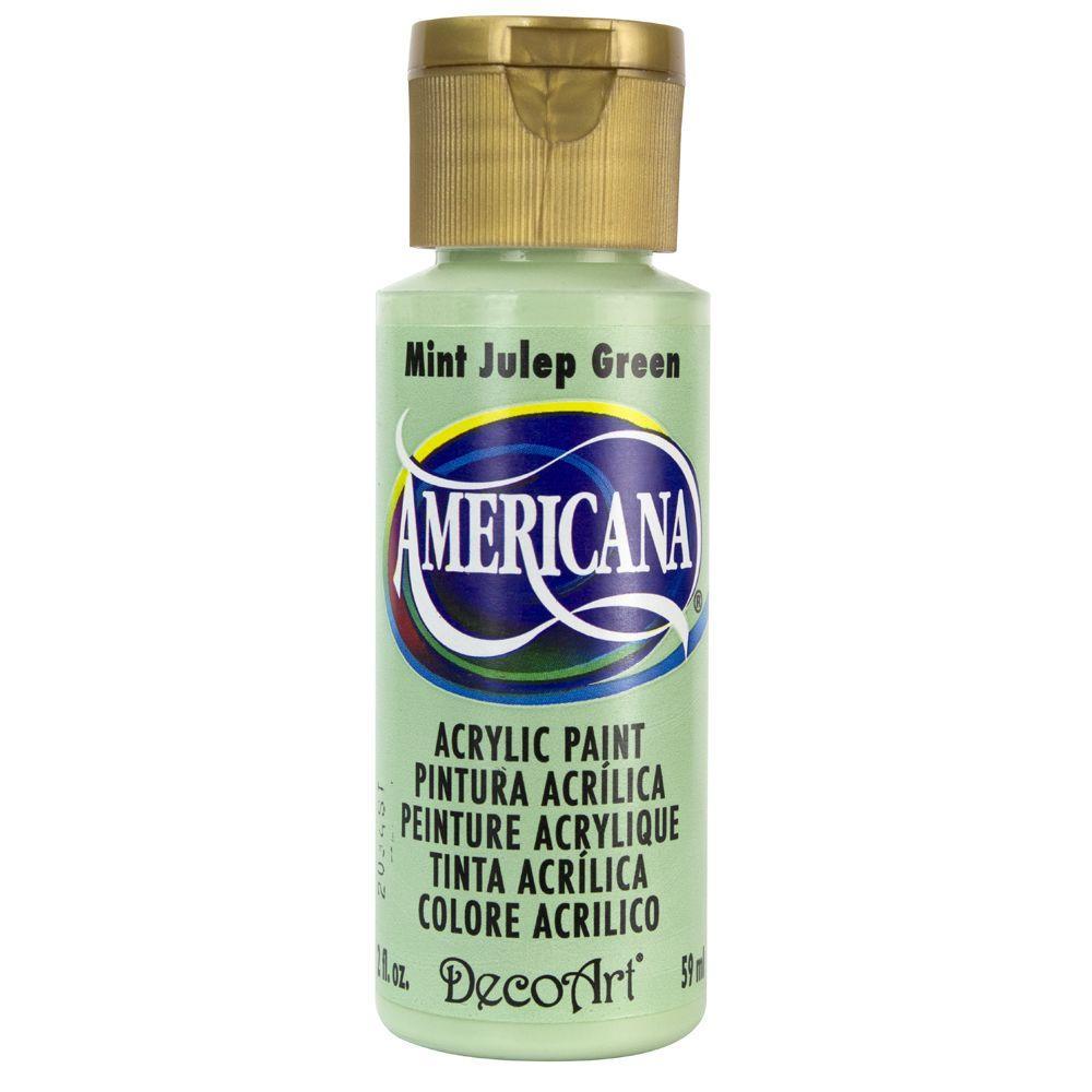 DecoArt Americana 2 oz. Mint Julep Green Acrylic Paint