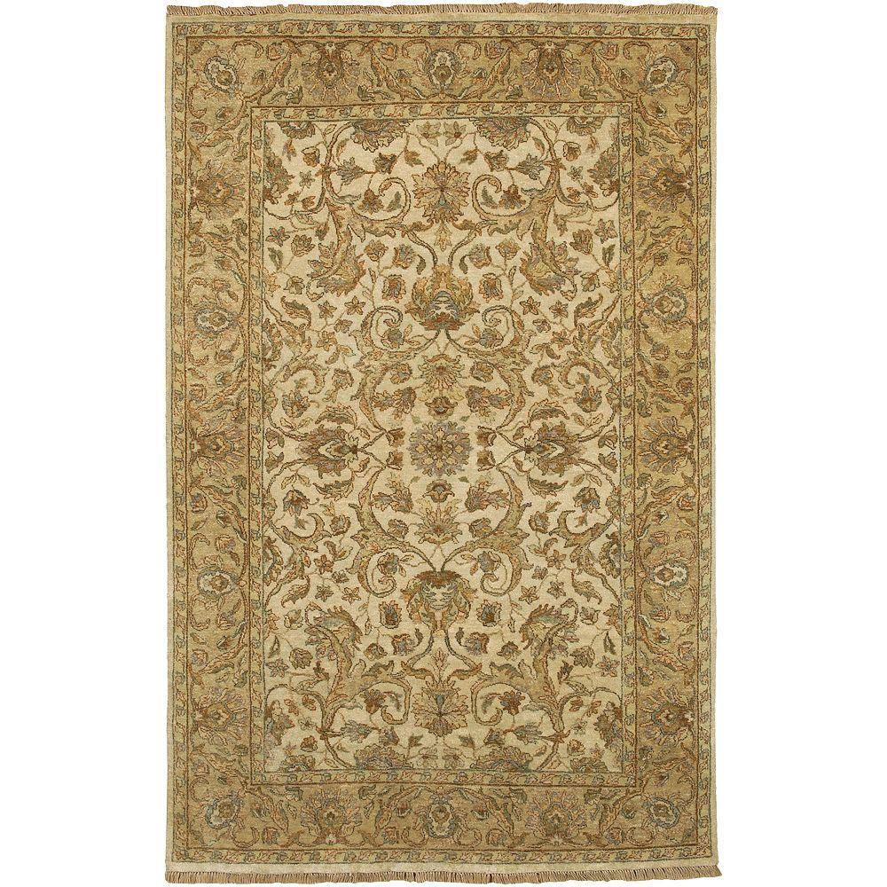 Artistic Weavers Bangalore Beige 3 ft. 9 in. x 5 ft. 9 in. Area Rug