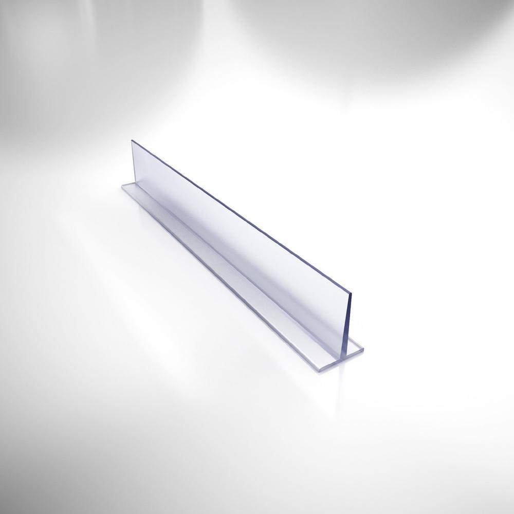 79 in. L Clear Vinyl Seal for 3/8 in. Glass Shower Door