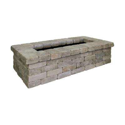 Fresco 76 in. x 20 in. Northwoods Tan Concrete Planter Kit