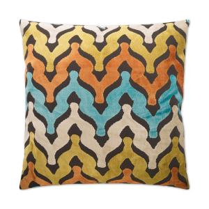 Monroe Carnival Feather Down 24 In X Standard Decorative Throw Pillow