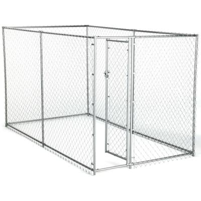 6 ft. x 10 ft. x 6 ft. Chain Link Kennel Kit