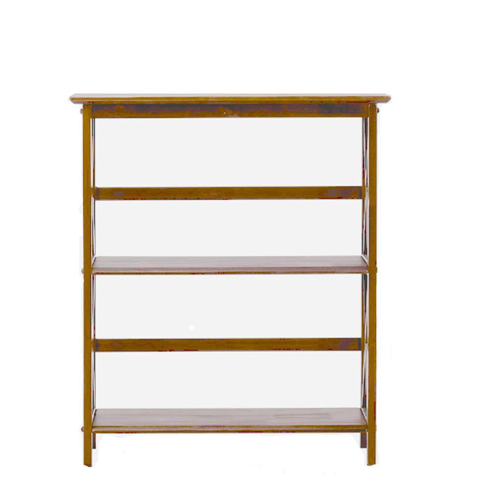 Montego Walnut Open Bookcase