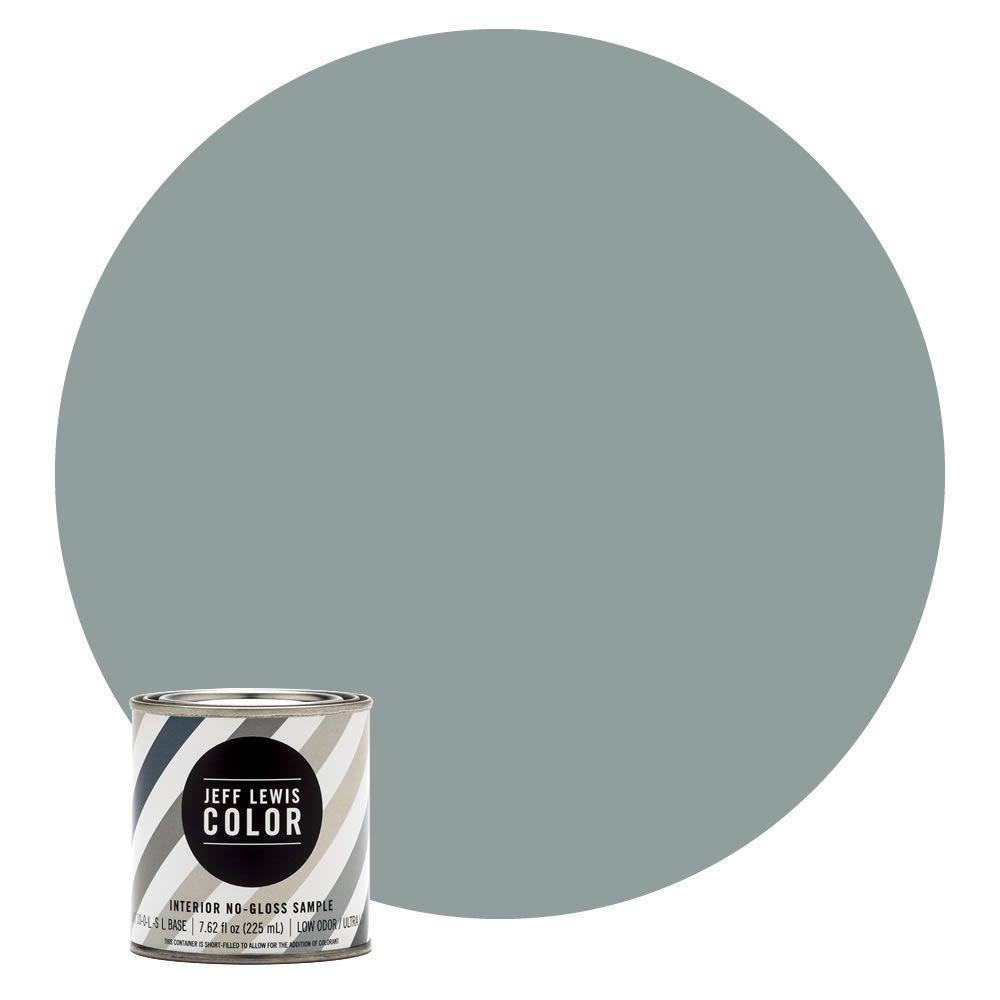 8 oz. #JLC312 Agave No-Gloss Ultra-Low VOC Interior Paint Sample