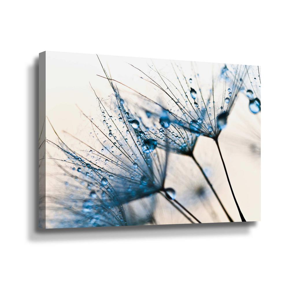 Artwall Mystic Blue By Photoinc Studio Canvas Wall Art 5pst225a1218w The Home Depot