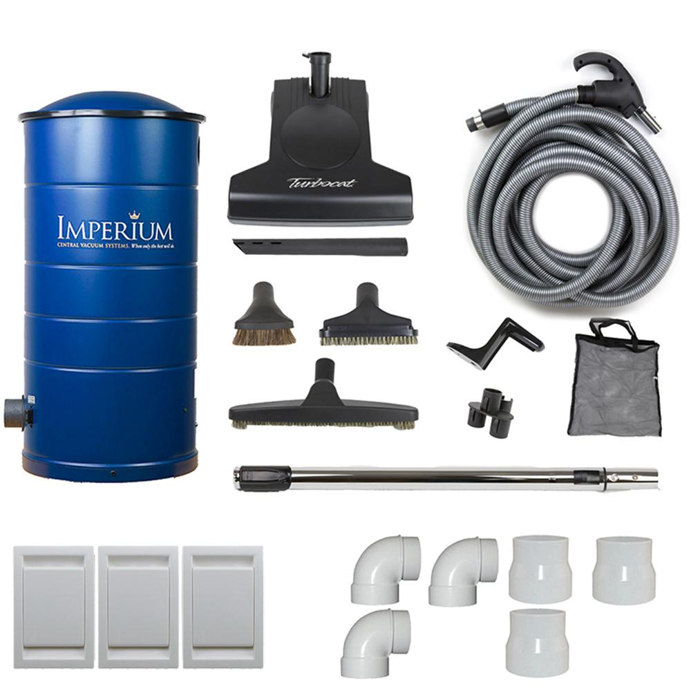 Imperium Central Vacuum with Attachment Kit