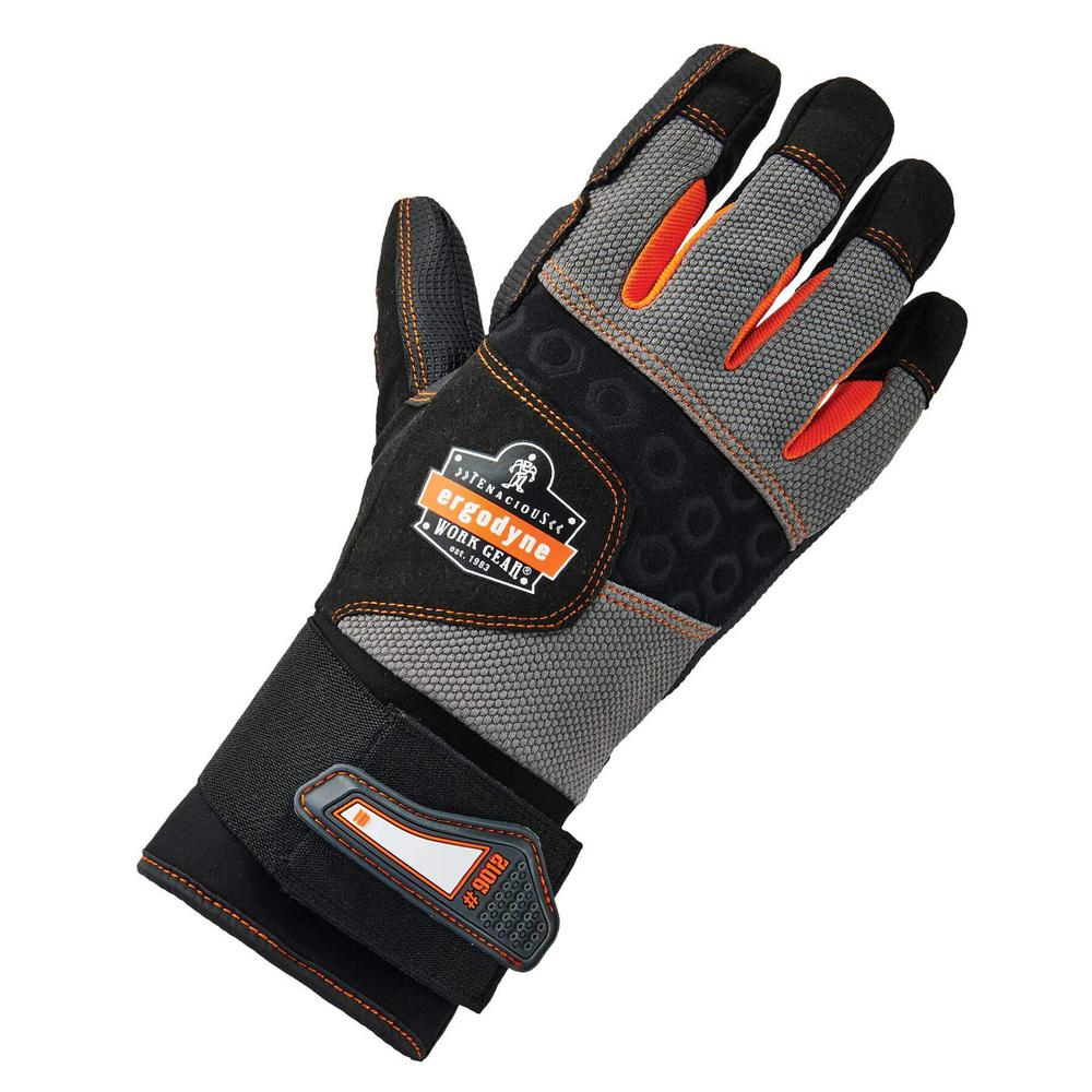 ProFlex Small Certified Anti-Vibration and Wrist Support Work Gloves