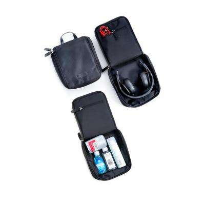 Nylon Travel Case in Black