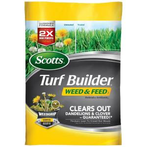 Scotts 15 Lb 5 M Turf Builder Weed And Feed 25006 The