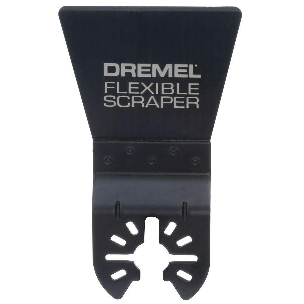 Multi-Max Flexible Scraper Blade Oscillating Tool Accessory for Soft Materials