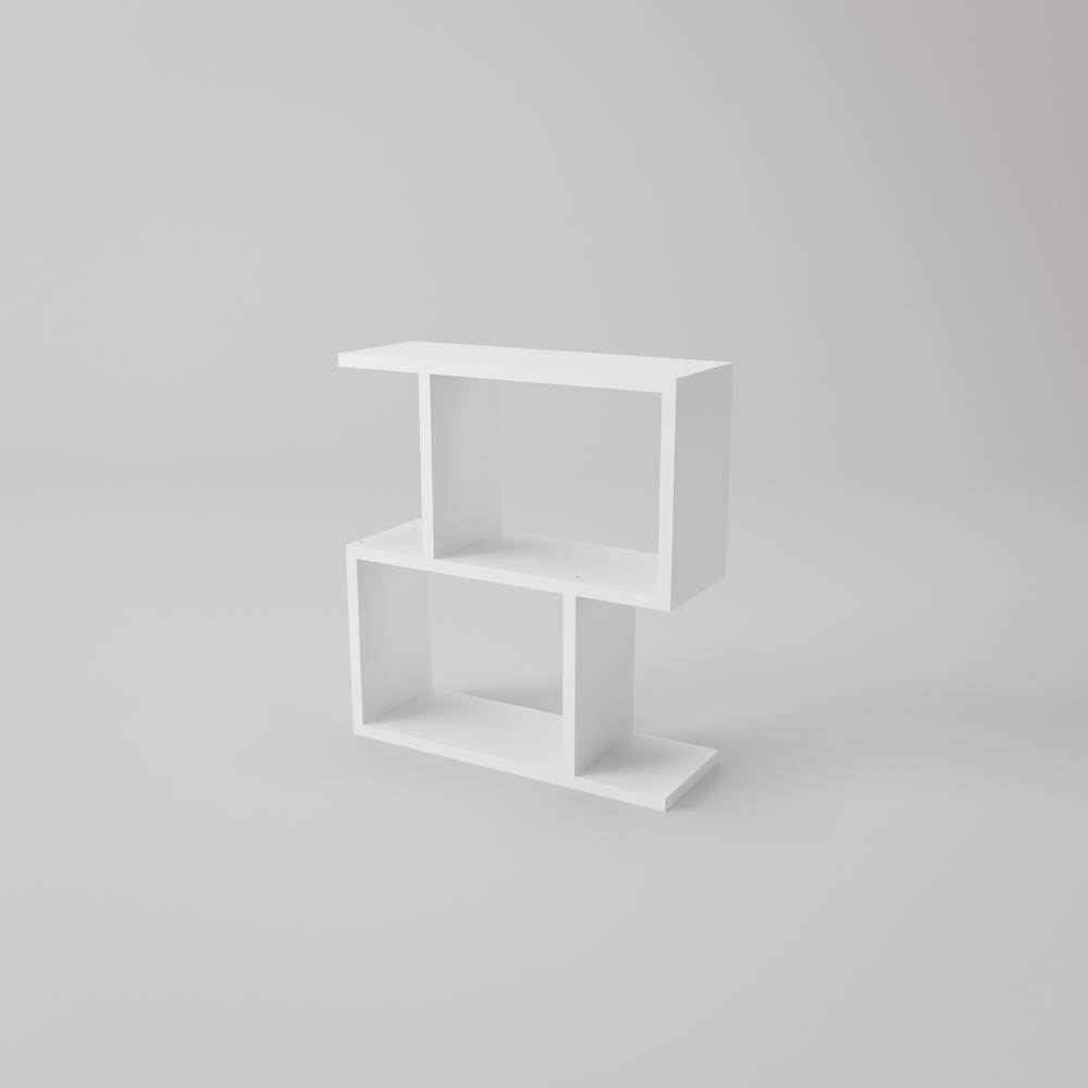 Ada Home Decor Sawyer White Modern Side Table AYZS1001