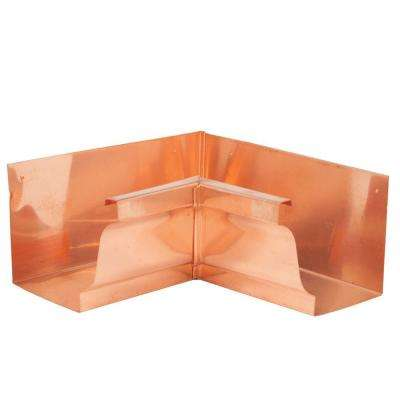 5 in. K-Style Copper Inside Mitre