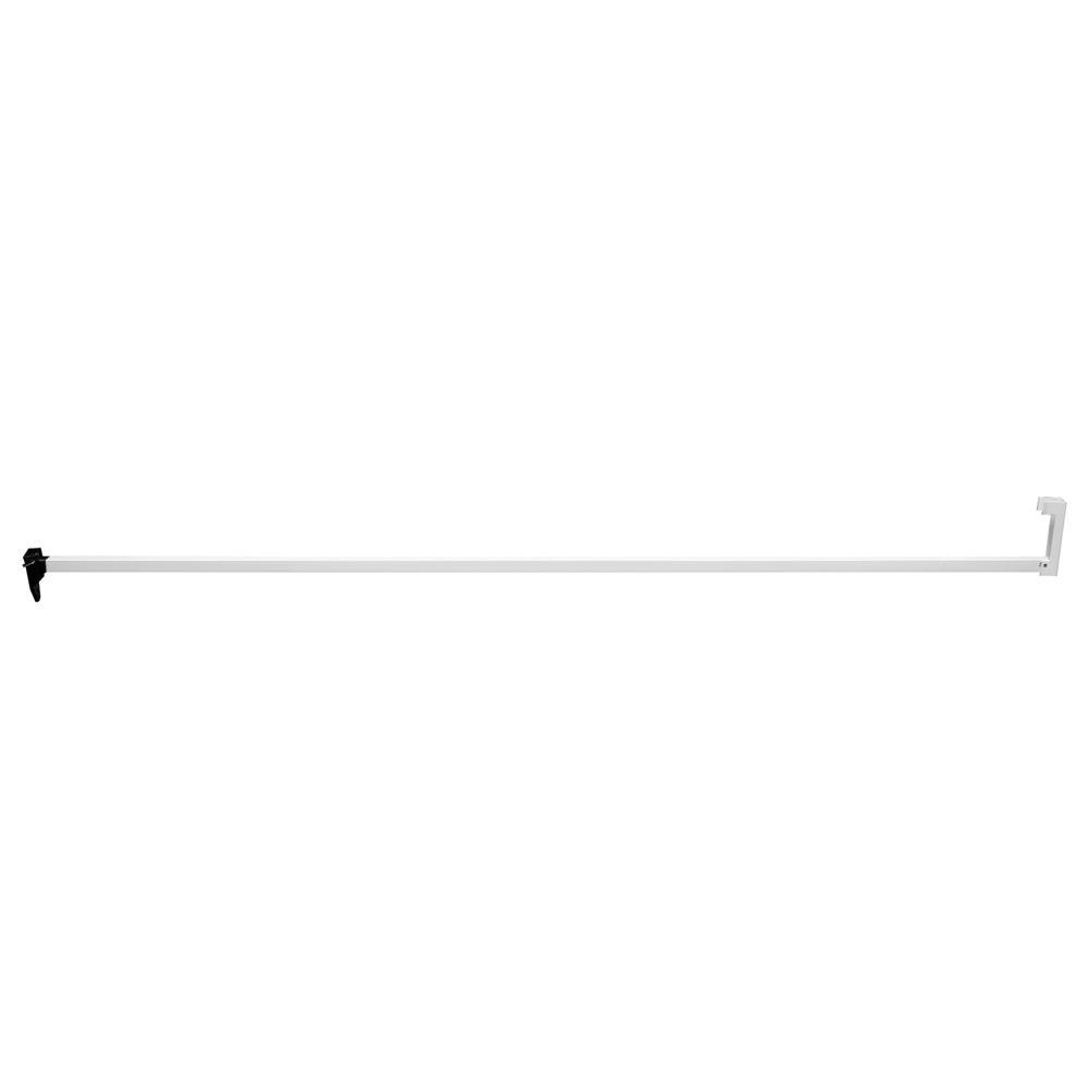 Prime Line Sliding Door Security Bar Lock 48 In White S