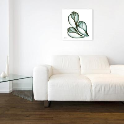 """""""Coastal Serenity II"""" Frameless Free Floating Tempered Glass Panel Graphic Wall Art"""