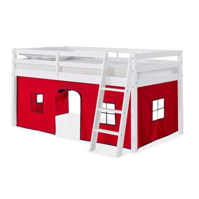 Roxy White with Red and Blue Tent Twin Junior Loft