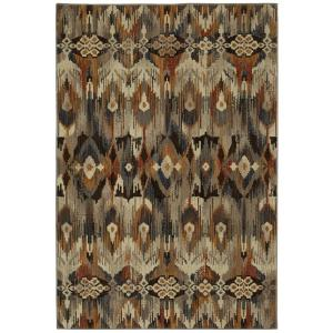 Atzi Multi 5 ft. x 8 ft. Tribal Area Rug