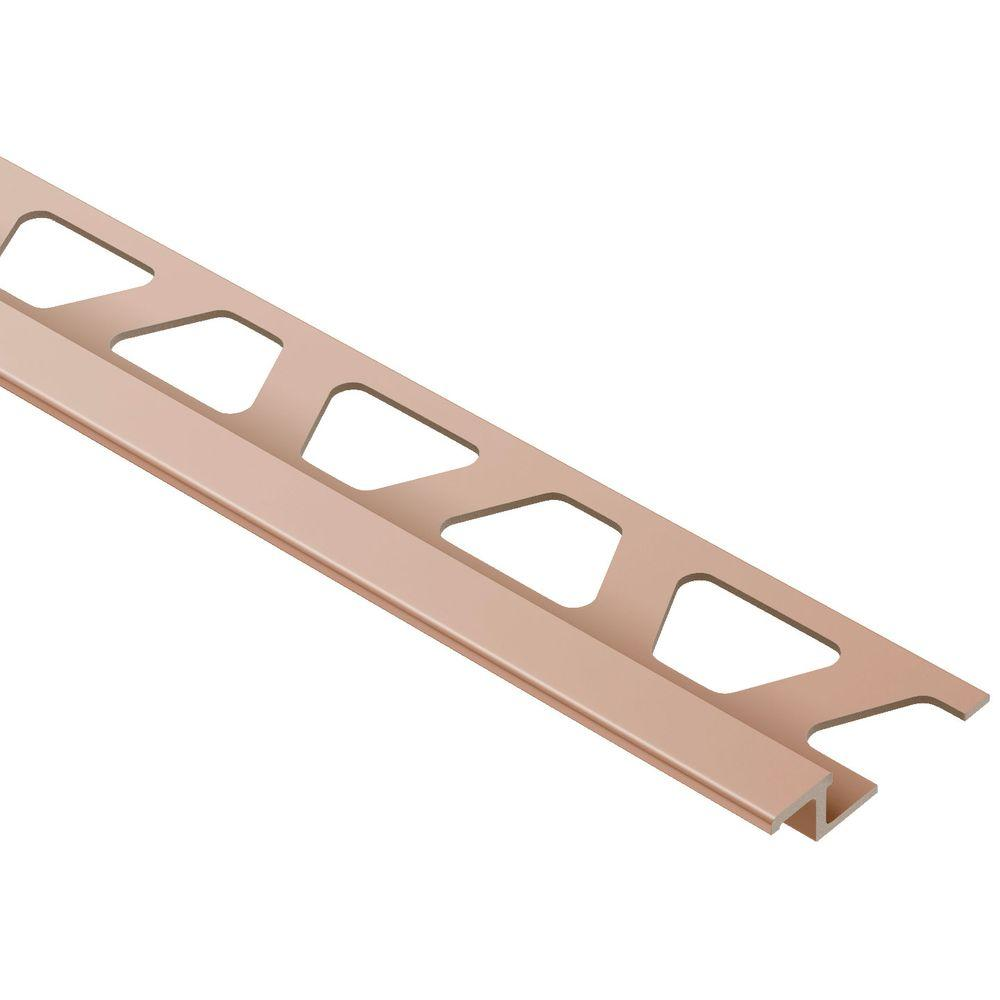 Reno-TK Satin Copper Anodized Aluminum 1/4 in. x 8 ft. 2-1/2