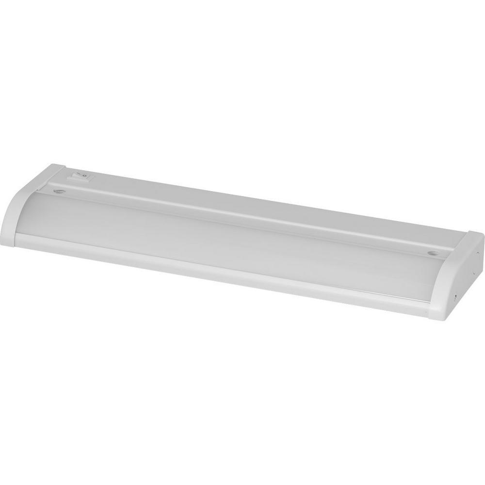 Progress Lighting 12 In. LED White Under Cabinet Light