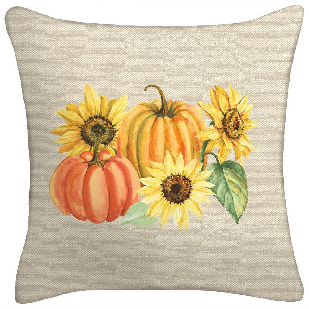 18 in. x 18 in. x 5 in. Harvest Toss Pillow