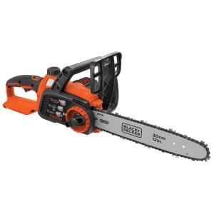 Click here to buy Black & Decker 12 inch 40-Volt MAX Lithium-Ion Cordless Chainsaw - Battery and Charger Not Included by BLACK+DECKER.