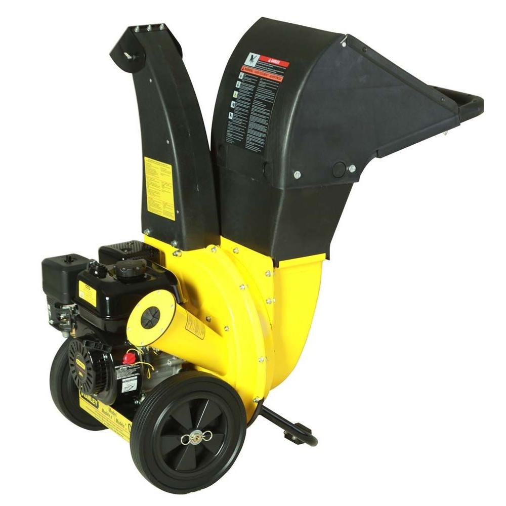 Stanley 6.5 HP 208 cc Chipper Shredder with 2.25 in. dia. Feed