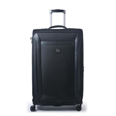 Heritage Classic 31 in. Black Soft-Sided Luggage Spinner