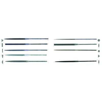 4 in. X.F Swiss Pattern Needle File Assortment Set - Cut 0