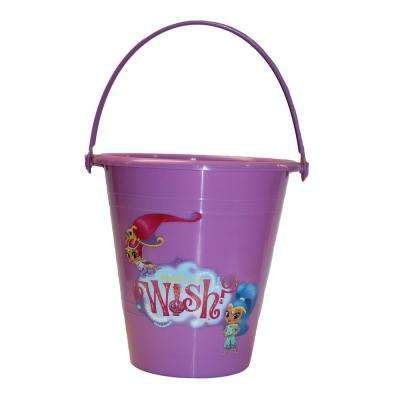 0.64 Gal. Shimmer and Shine Polypropylene Bucket