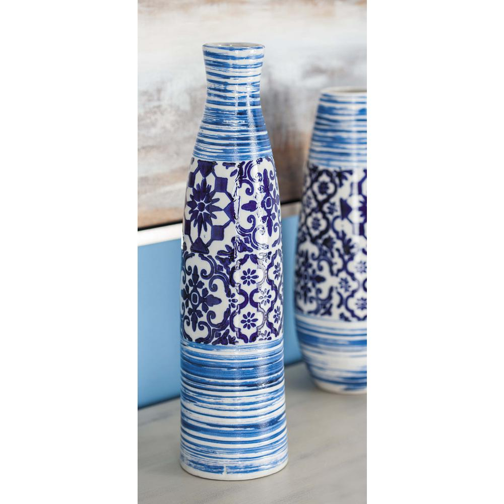19 in oriental blue and white bottle shaped decorative vase 62178 oriental blue and white bottle shaped decorative vase reviewsmspy