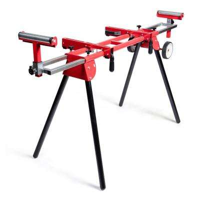 8 in. Miter Saw Stand with Solid Tires