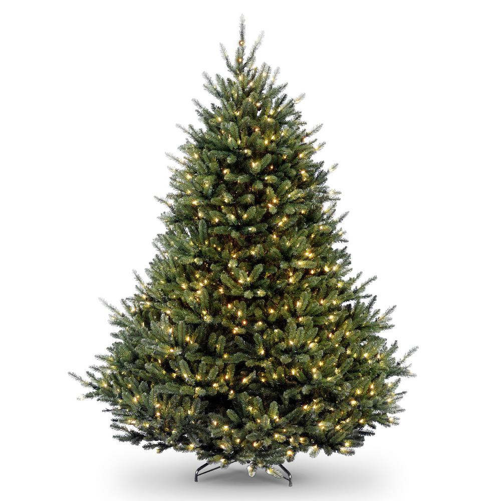 online store cd935 d2454 National Tree Company 7-1/2 ft. Natural Fraser Fir Hngd Tree with 1200  Clear Lights