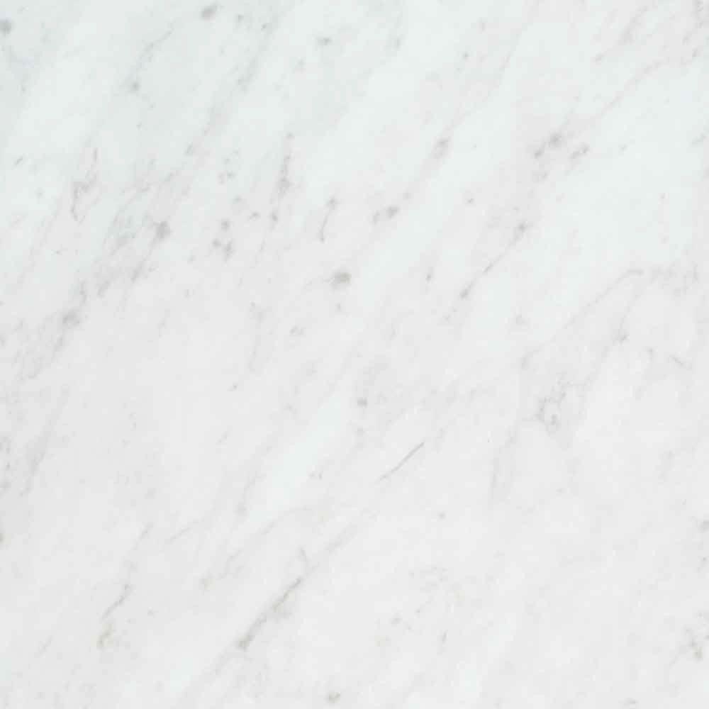 36 in. x 96 in. Laminate Sheet in White Carrara with Standard Fine Velvet Texture Finish