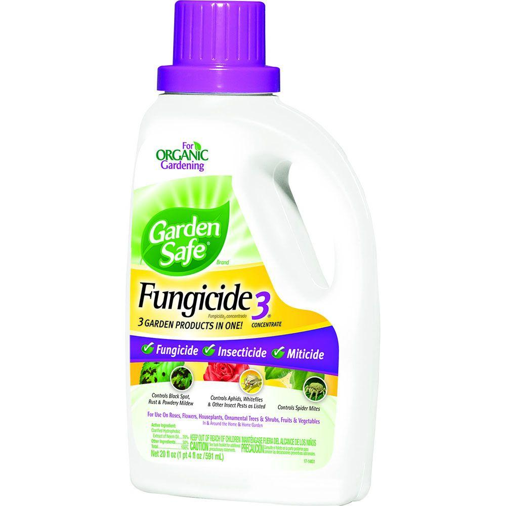 Garden Safe 20 Fl Oz Fungicide 3 Concentrate Hg 10411x 4 The Home Depot