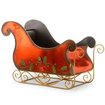 38 in. Metal Sleigh