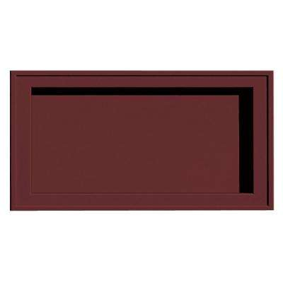7.5 in. x 14.25 in. # 078 Wineberry Recessed Jumbo Mounting Block