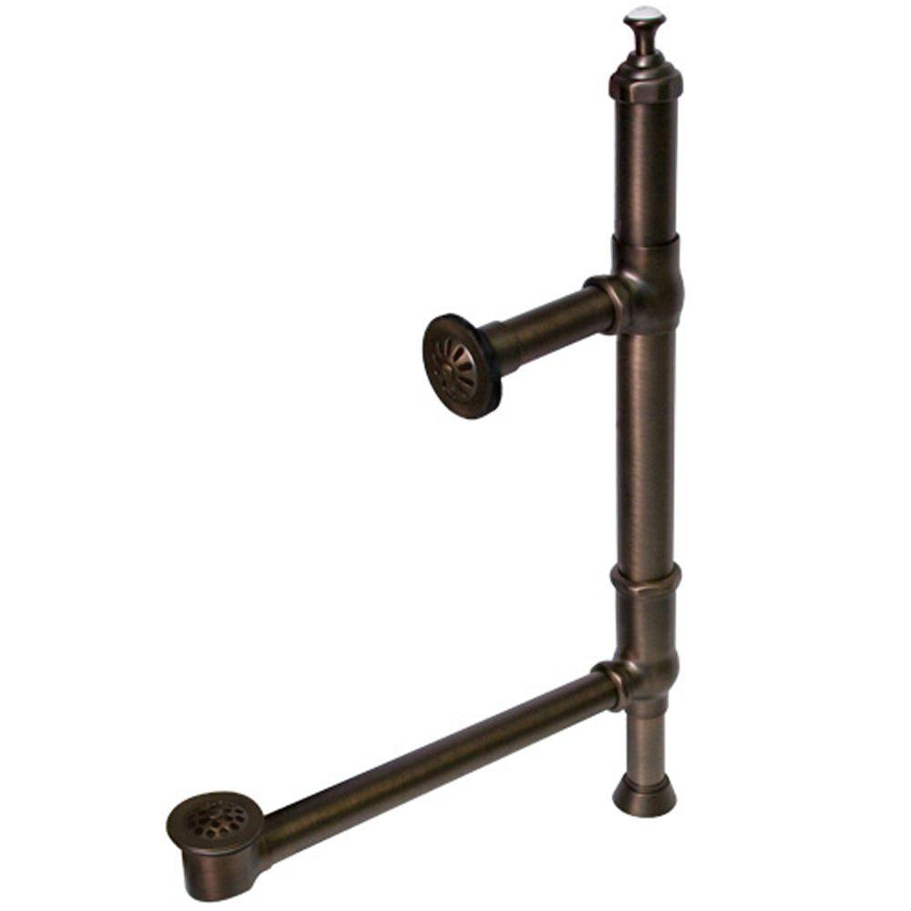 Barclay Products 19 in. - 21 in. Standard Tower Drain and Overflow in Oil Rubbed Bronze-DISCONTINUED