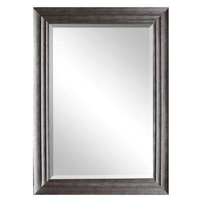 31.5 in. x 43.5 in. Silver Decorative Mirror